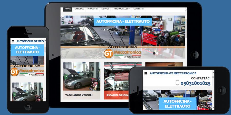 Nuovo sito web Autofficina GT Meccatronica